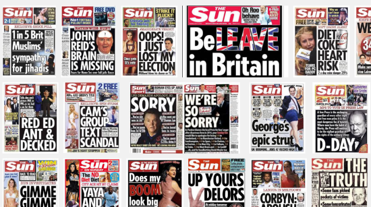 sun front page today Google Search