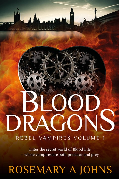 """Featured Author: Rosemary Johns """"Blood Dragons: Rebel Vampires Volume 1"""""""