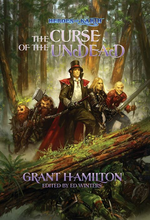 """Featured Author: Ed Winters and """"Heroes of Karth"""""""