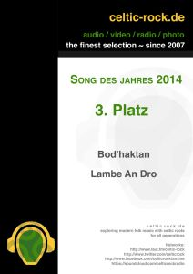celtic-rock---song-des-jahres-2014---Platz-3