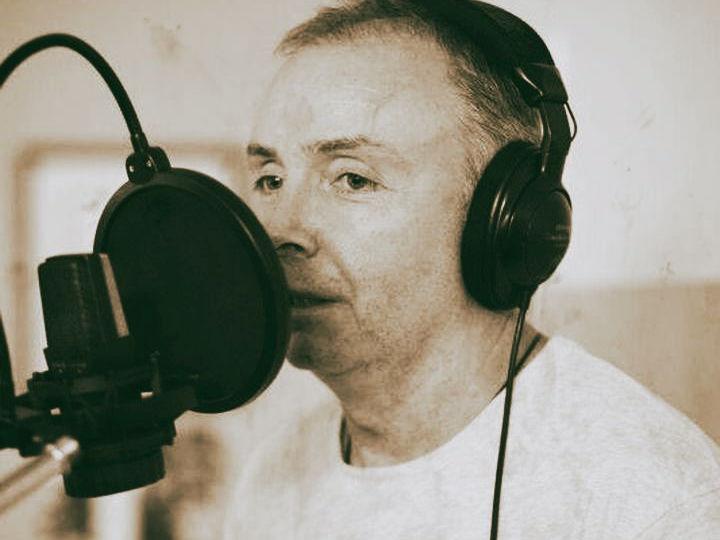 Hugh Morrison im Studio
