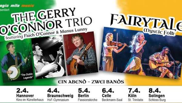 The Gerry O'Connor Trio + Fairytale – on Tour