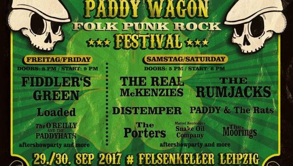Paddywagon Festival Leipzig 2017 – Vorschau
