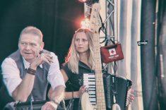 Bilder vom Auftritt am 1.9.2018 im Neulandpark Leverkusen