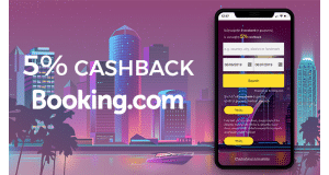 cashback 5% on booking