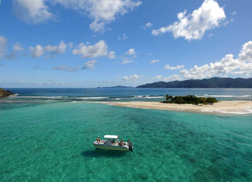 Sandy Spit, option to snorkel, swim or simply chill out.