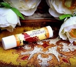 peppermint lemongrass lip balm