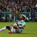 Celtic's Scott Sinclair injured