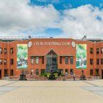 Celtic's Odsonne Edouard celebrates scoring their first goal