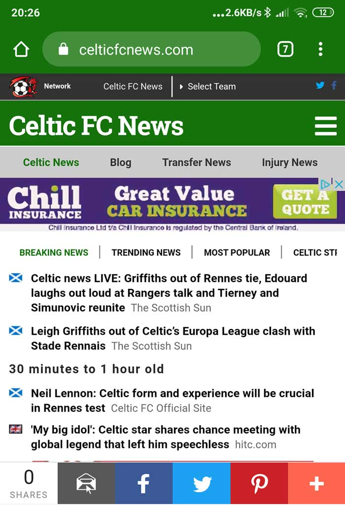 CelticFCNews.com Launches Stunning New Design With Enhanced Functionality