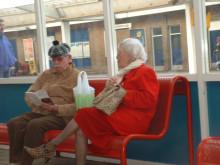 超キュートな老夫婦。