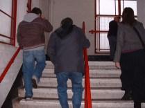 メインスタンド階段