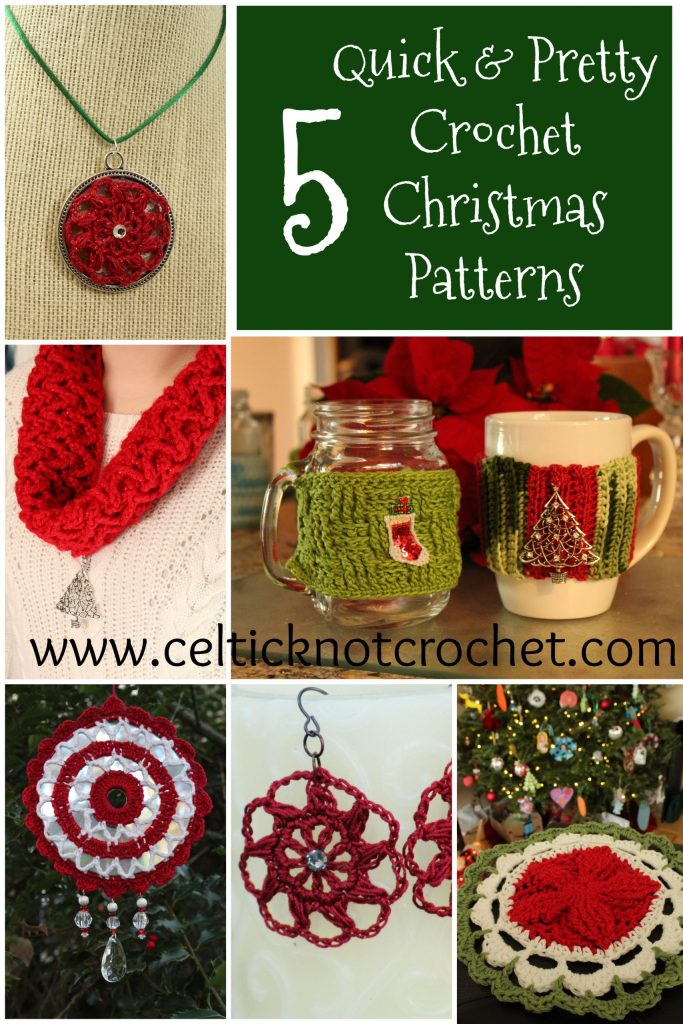 Christmas crochet patterns that are small and quick