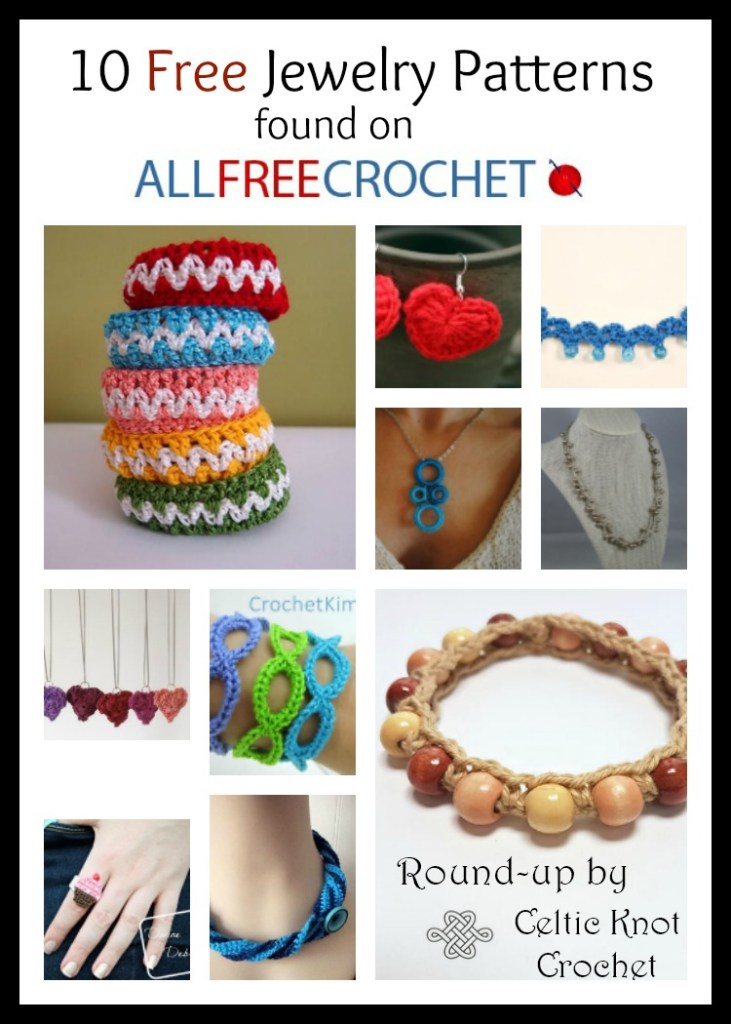 10 Free Crochet Jewelry Patterns - Celtic Knot Crochet
