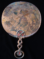 Birdlip Mirror Decorated Side