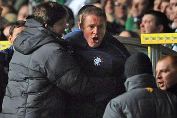 It's all Celtic Fans Fault – McCoist Blasts Administration Talk