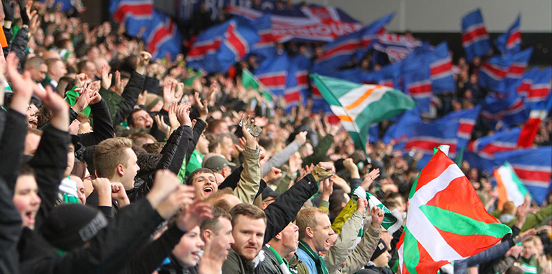 Ibrox is STILL Green and White - Gers Fans Outrage