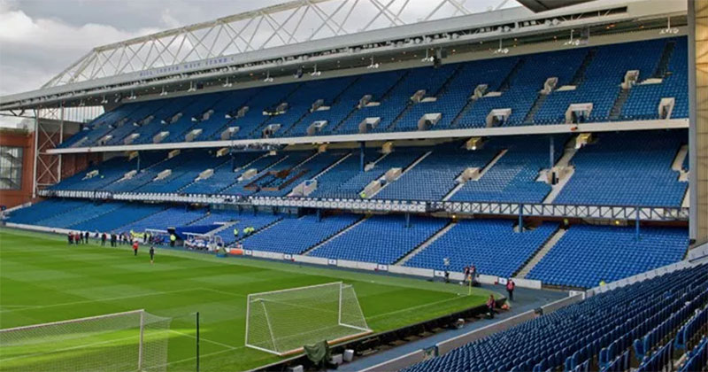 Scottish Football Fans Brand Ibrox Club a Laughing Stock