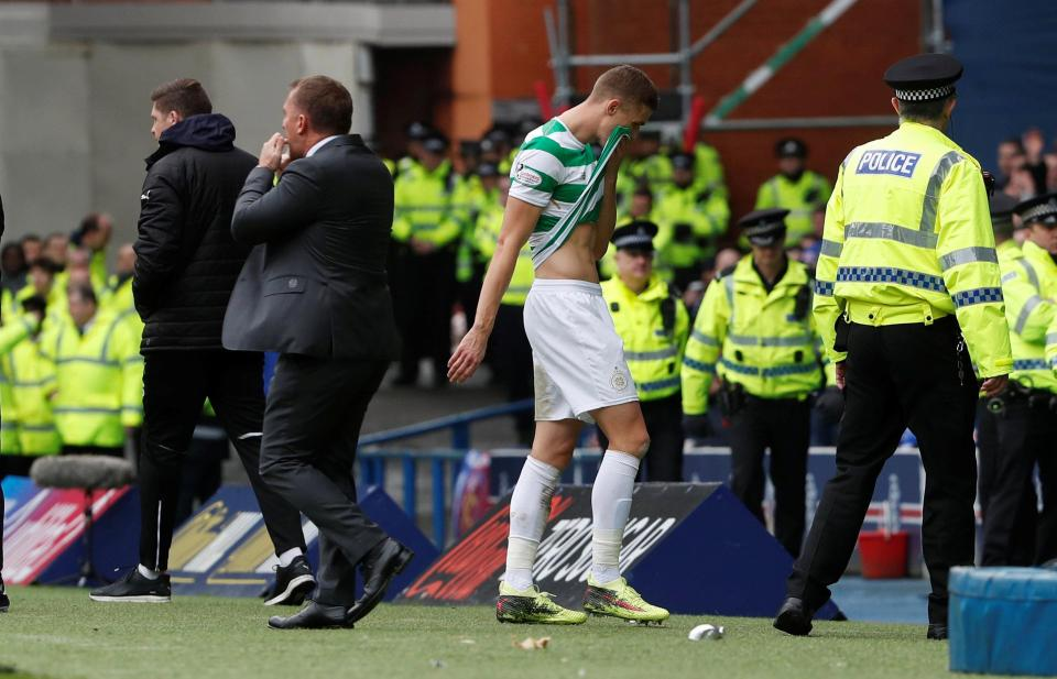 Celtic Boss Slams Ibrox Official