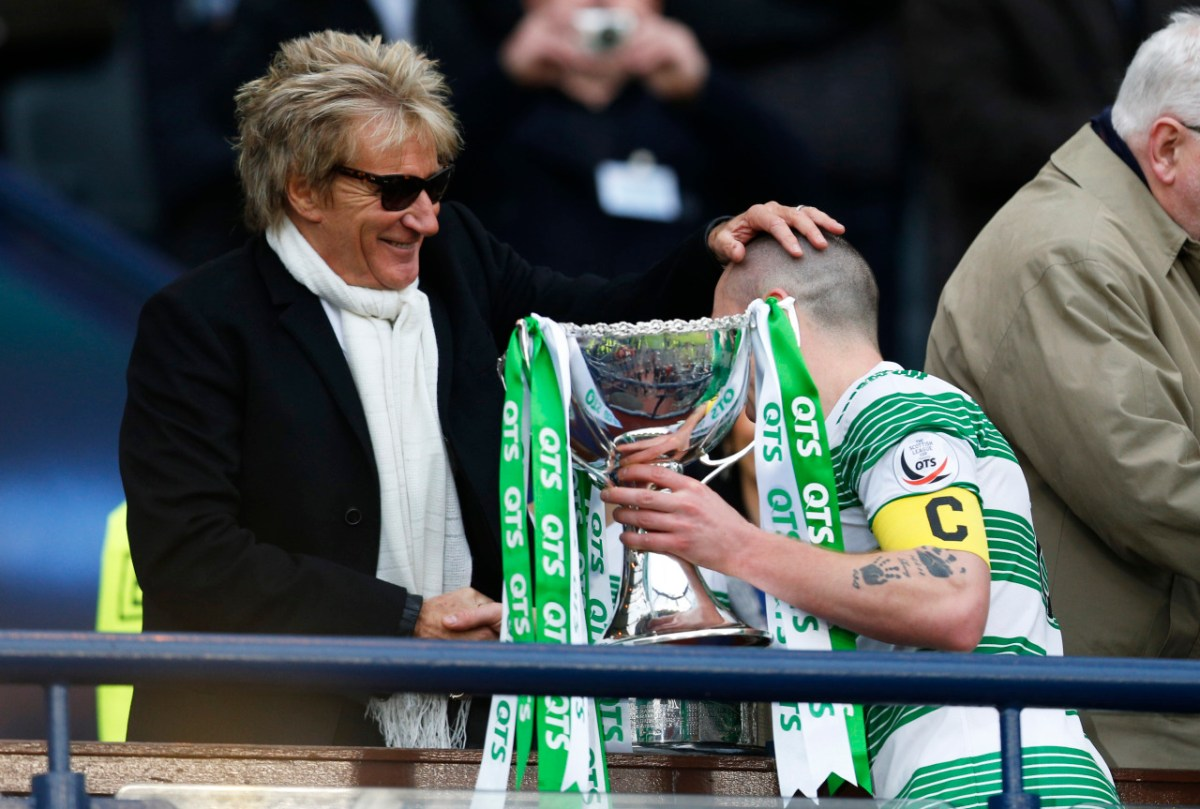 Rod at the Races: Watch Singer Deliver Glasgow Derby Dig on Live TV