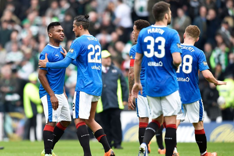 Chaos – Celtic Backroom Staff Witness Gers Brawl