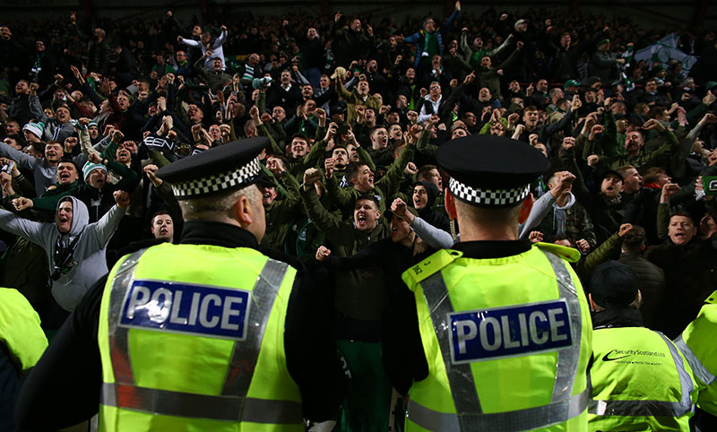 Police Branded a Disgrace as Celtic Urge Fans to Get in Touch