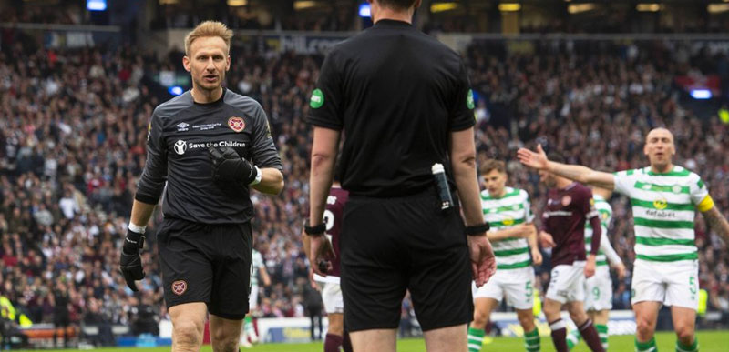 Video: The Embarrassing Hearts Tactic During Cup Final