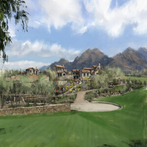 Village at Silverleaf Cullum - View02_color