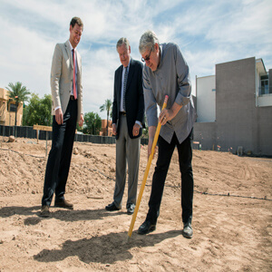 Ground breaking at Eldorado 1, May 11, 2016