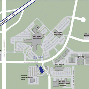 Mercy Hospital Campus Map.Medproperties Group To Develop Mercy Medical West Cem