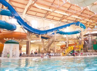 Tilt-up Construction Brings Innovative Edge, Safer Building Method to Great Wolf Lodge, AZ's First Indoor Water Park