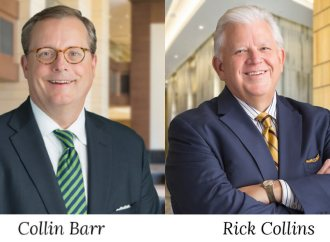 Barr and Collins Named Presidents of Ryan Companies Newly Formed Geographic Regions
