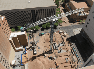 Construction of Hyatt Place Hotel in Downtown Phoenix Moves Forward