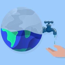 El agua, bien comun bajo presion