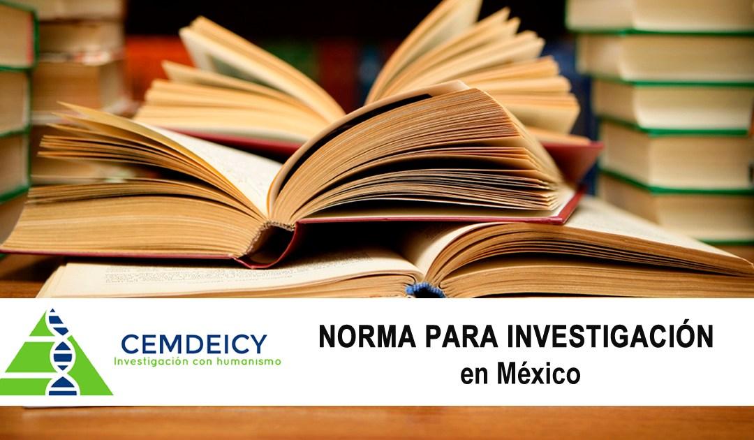Norma para investigación Clínica en México