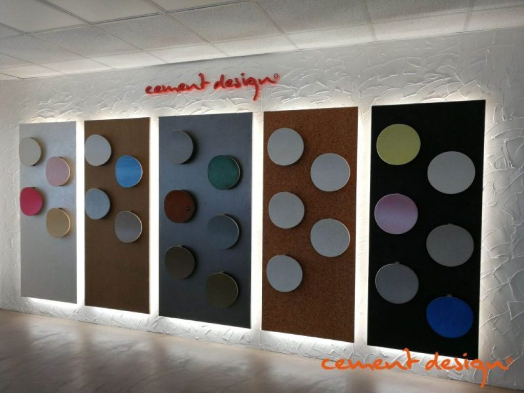 Cement Design Showroom Zaragoza