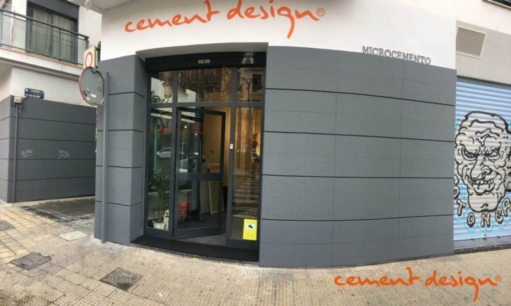 Cement Design Showroom Valencia Torres del Quark