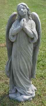 Concrete Angel Statues