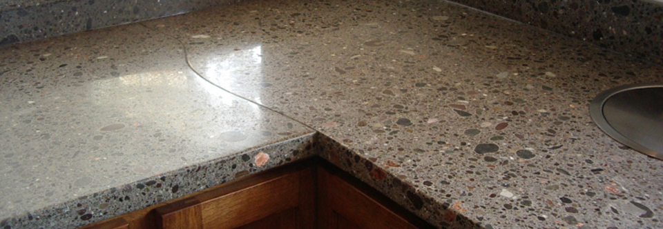 Hand-crafted countertops, unique to you