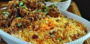 Nasi Kebuli Khas Arab