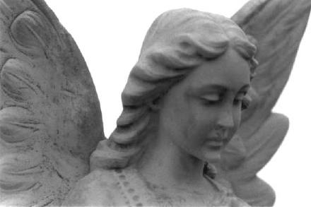 Angel from Mount Olivet Cemetery, Wheat Ridge, Colorado