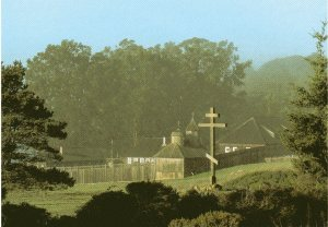 Postcard sold by the Fort Ross Interpretive Association. Photo by Daniel F. Murley.