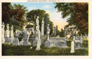 Since 1899 many tourists have visited Maplewood Cemetery, according to this vintage postcard.
