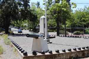 The Civil War monument