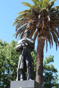 Closeup of the current Union soldier