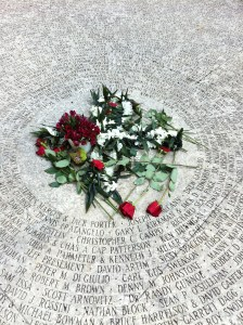 The heart of the National AIDS Memorial Grove