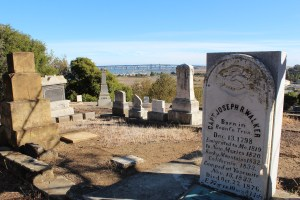 The Carquinez Strait from Alhambra Cemetry