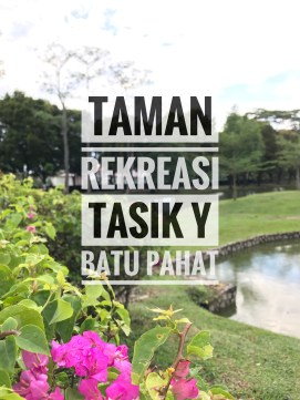 Taman Rekreasi tasik Y title