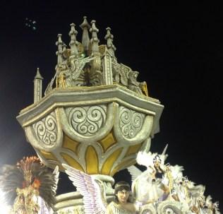 Detalhe da quinta alegoria do Império de Casa Verde no Desfile das Campeãs (2017) - Foto de Cassius S. Abreu