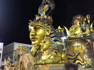 Segunda alegoria do Tatuapé no Desfile das Campeãs (2017) - Foto de Cassius S. Abreu